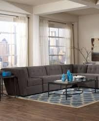 macys furniture sofas roxanne fabric 6 piece modular sectional sofa with chaise created