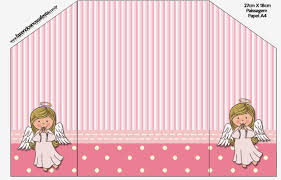 angel free printable invitations cards and photo frames