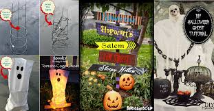Outdoor Yard Decor Ideas 50 Easy Diy Outdoor Halloween Decoration Ideas For 2017