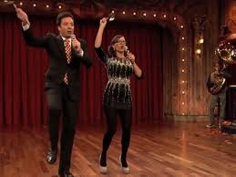 jimmy fallon rashida jones one direction rihanna psy in