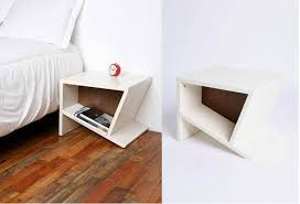 nachttischle design attraktive nachttische für das moderne schlafzimmer