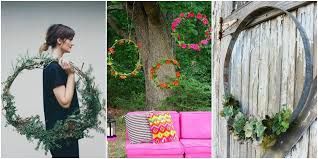wreath diys oversized wreath crafts