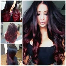 long hair ombre color popular long hairstyle idea