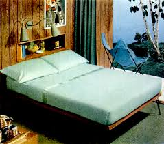mid century living early u002750s bedrooms 1950 55
