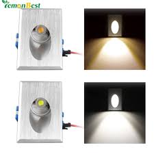 aliexpress com buy led wall light 3w rectangle recessed led