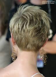 short hair cuts seen from the back short hair cut back view