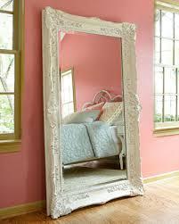 huge floor mirror in dining room
