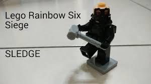siege lego lego rainbow six siege moc sledge