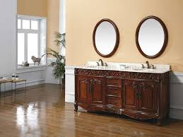Bathroom With Wainscoting Ideas by Bathroom Brown Wood Bathroom Vanities With Tops And Double Sinks