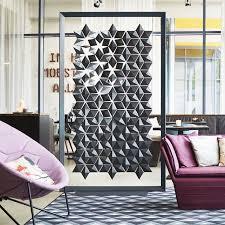room devider freestanding room divider facet bloomming