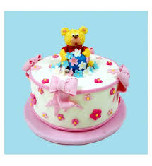 birthday bears delivered ribbon cake special for your one birthday with