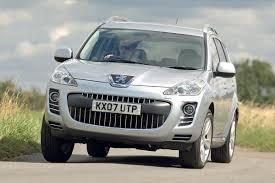 peugeot 4x4 range peugeot 4007 1k 3k best cheap 4x4s best cheap 4x4 cars