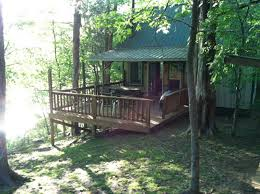 rustic cabin in the woods on buffalo river cabins for rent in