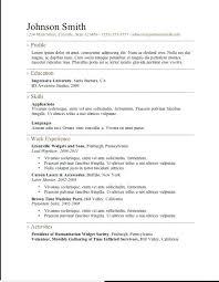 resume template download wordpad windows simple resume template download completely free resume template