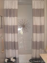 Hanging Curtains High Decor Double Shower Curtain Kids Bathroom Pinterest Double Shower