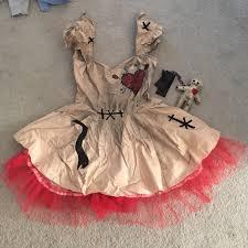 Voodoo Doll Halloween Costume 69 Spookshow Dresses U0026 Skirts Voodoo Doll Halloween Costume