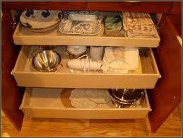 kitchen under cabinet pull out drawers kitchen shelf organizer