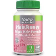 Biotin African American Hair Growth Naturenetics Hairanew Hair Vitamins W Biotin Support Healthy