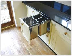 Kitchen Trash Cabinet Pull Out Kitchen Trash Cabinet Pull Out Home Design Ideas