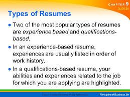 Resume Order Of Jobs 9 Career Planning And Development 9 1 Career Opportunities Ppt