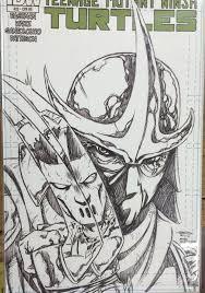 teenage mutant ninja turtles 22 phantom sketch variant larry u0027s