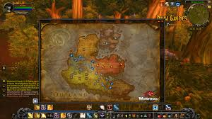 Wow Kalimdor Map In Game Map With Portals Locations Dugi Guides