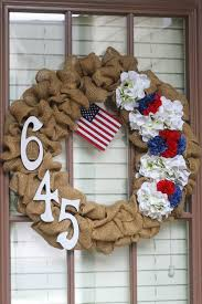 halloween burlap wreath 11 easy diy 4th of july wreaths how to make a fourth of july wreath