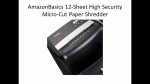 Cross Cut Paper Shredders Best Micro Cut Paper Shredder Reviews For Home Use Youtube