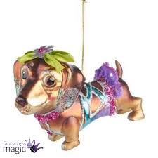 ornaments dachshund ornaments gisela graham