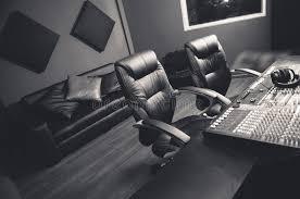 bureau studio musique installation professionnelle chique de studio d enregistrement