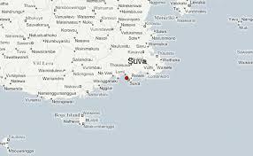 map of suva city suva weather forecast