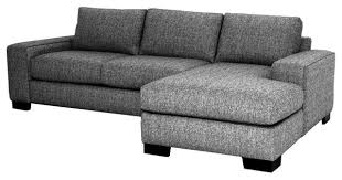 sofa beds design new modern grey tweed sectional sofa design for