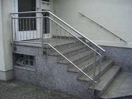 handlauf fã r treppen gelander handlauf bausatze fa 1 4 r barrierefreie gelander und