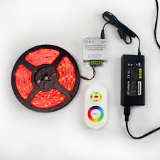 rgb led light controller led color controller rf touch wheel