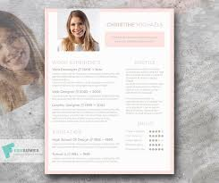 Colorful Resume Templates Free Pristine In Peach U2013 A Free Resume Template With Light Colors