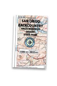 Joshua Tree California Map Joshua Tree Nat U0027l Park U2013 Tom Harrison Maps