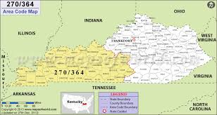 map of ky and surrounding areas 270 area code map where is 270 area code in kentucky