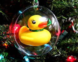 rubber ducky bow etsy