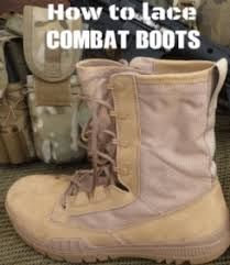 Most Comfortable Military Boots How To Lace Combat Boots Authorized Boots