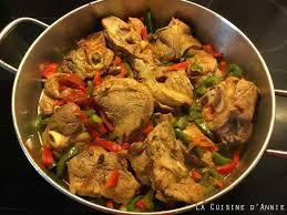 agneau cuisine recette sauté d agneau aux poivrons la cuisine familiale un plat