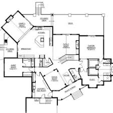 luxury open floor plans open concept floor plan ideas the plan collection