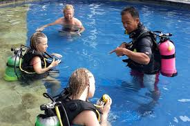 learn to scuba with all 4 diving