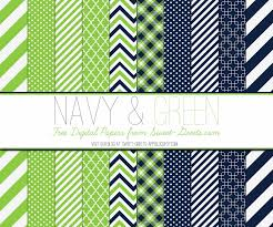 just peachy designs free digital paper navy and green
