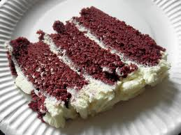 red velvet cake with chocolate cream cheese frosting everyvariety