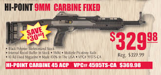 turners black friday hi point carbine 9mm 10 rds 329 45 acp 359 at turner u0027s