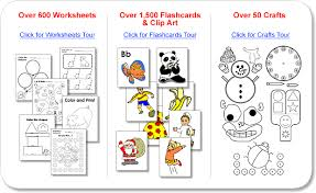 kindergarten resources worksheets flashcards clip art u0026 crafts