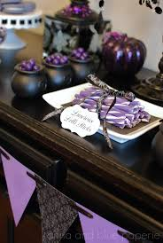 Halloween Decoration Ideas For Party by 103 Best Black And Purple Halloween Party Ideas Images On