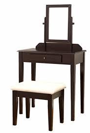 Vanity Set Furniture Frenchi Furniture Wood 3 Pc Vanity Set In Espresso