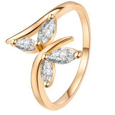 butterfly rings gold images Fashion ring women jewelry gold color butterfly rings for women jpg