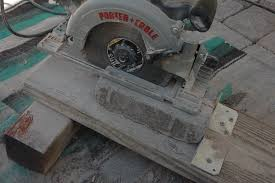 How To Cut Patio Pavers 20081109 Patio Paver Cuts Circular Saw With Blad Flickr